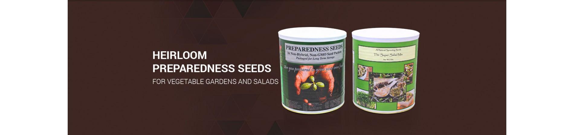 Heirloom Preparedness Seeds for Vegetable