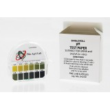 pH Test Paper - 15 ft. roll with dispenser case & color chart