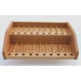 2 Tier 60 Bottle (5 -15ml) Commercial Retail Display and Sample Rack #205