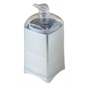 9377 Sliver Whisper Premium Silent Misting Diffuser