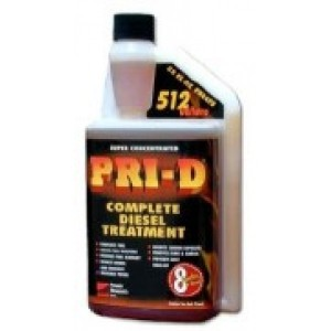 PRI-D Diesel Kerosene Treatment Fuel Stabilizer 32 oz Treats 512 gallons