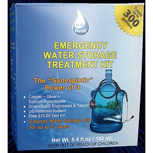 H2OResQ Emergency Water Storage Treatment Kit