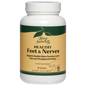 Healthy Feet & Nerves 1 Bottle of 120 Capsules