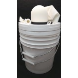"4"" x 4"" Ceramic Drip Water Filter Bucket Kit:"