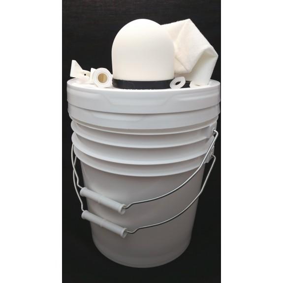 complete ceramic water filter kit plus 5 gallon pail wgamma lid - Ceramic Water Filter