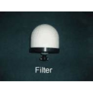 "Ceramic Filter with Sock and [2] 1/2"" ID Flat Washers:"